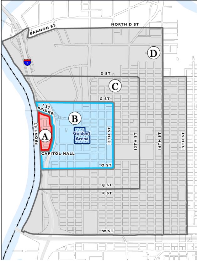sacramento releases parking rates for golden 1 center