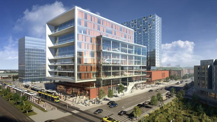 This Conceptual Rendering By Gensler Depicts A Proposed 254 000 Square Foot Multi