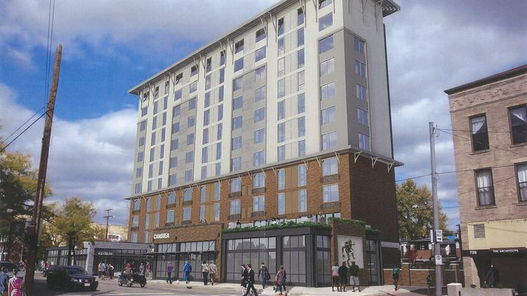 Plans For Bollinger Tower In The Short North Include Conversion Into A 190 Room Cambria