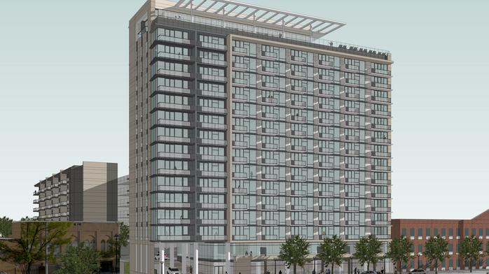 Work begins on major Southside apartment project