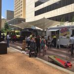 Why Dallas' <strong>Larry</strong> <strong>Hamilton</strong> wanted to make Browder Street Plaza a food truck destination
