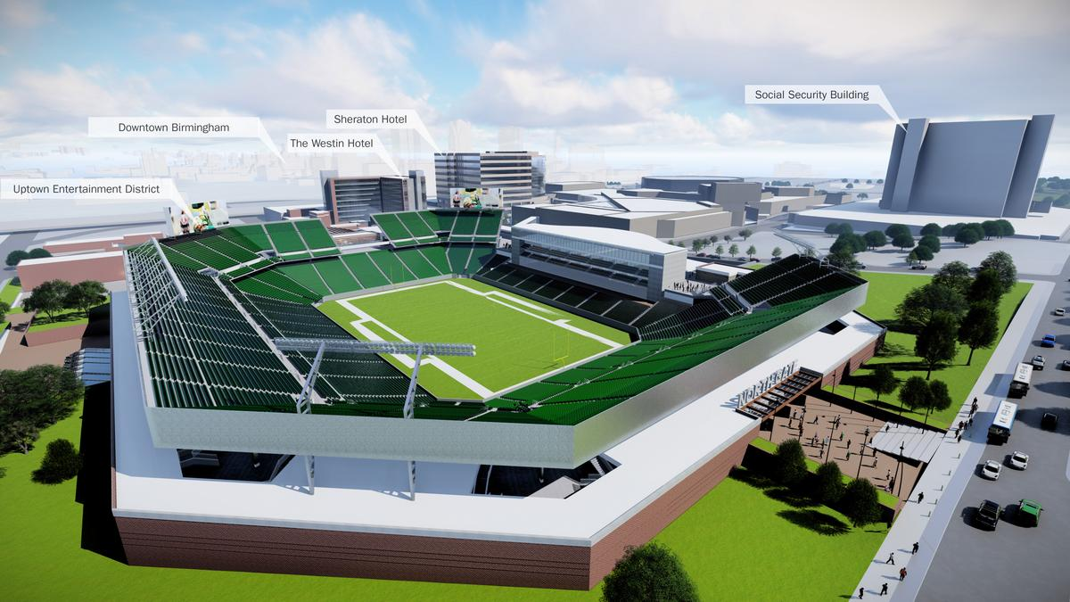 What S The Status Of The Football Stadium Project At The