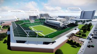 Should the city of Birmingham commit $90 million to a stadium project at the BJCC?