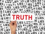 Truth is, just about everyone lies