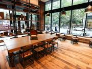 Coco and the Director coffee shop opened its doors on August 18 at 100 W Trade St. inside the Marriott City Center.
