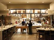 Stoke Restaurant is a seasonal American restaurant with wood-fired cuisine.
