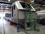 High-tech train engines in test runs at Siemens