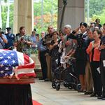 Body of Mark Takai lies in state in Capitol rotunda: Slideshow