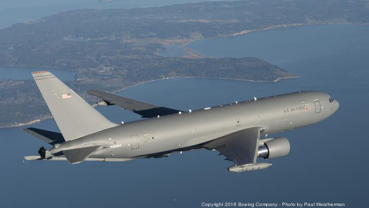 the boeing co will build its kc 46a tanker in everett washington