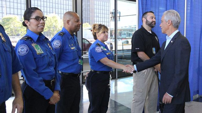 Chicago airports promising travelers a quick trip through security checkpoints