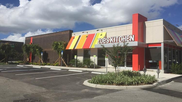 Zoe\'s Kitchen joins Sam Fox in new Arcadia development, opening two ...
