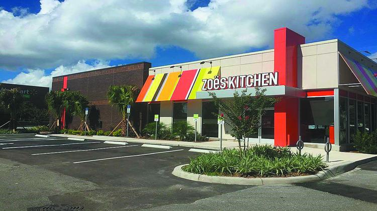 a zoes kitchen location in orlando the fast casual mediterranean concept is opening its second - Zoes Kitchen Locations