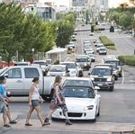 Downtown traffic: There is no escape plan