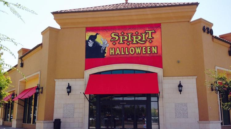 spirit halloween temporarily fills empty big box store locations such as the sports authority at