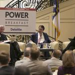 Business leaders react to McCrory's points at TBJ Power Breakfast