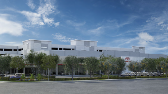 Toyota Dealer Stiles Corp Breaks Ground On Toyota Of