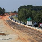 Divide persists as I-77 toll lanes begin to take shape (PHOTOS)