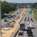When will decision be made on I-77 toll lanes?