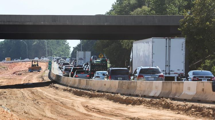 $650 million expansion of I-77 remains a sore spot in Meck