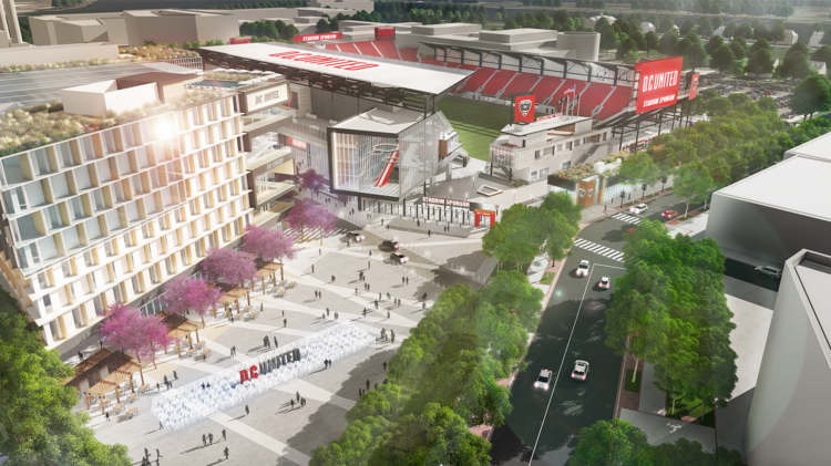 Dc United In Talks With Four Developers For Audi Field Area
