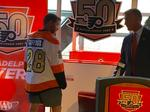 Flyers unveil 50th anniversary jersey