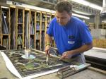Small Business Profile: Creating stained glass is a 'blessing' for him