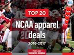 Exclusive: Here are this year's top 20 NCAA apparel deals