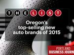 List Leaders: Oregon's 5 best-selling automotive brands unveiled