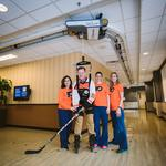 Former Flyers All-Star starts fund to help fellow <strong>Magee</strong> stroke patients