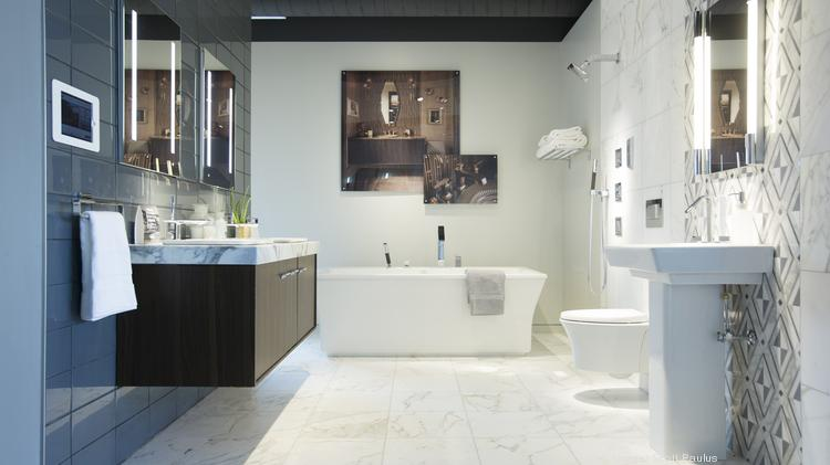 First Look At New Kohler Signature Store In Wauwatosa Slideshow - Bathroom stores milwaukee