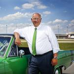 Louisville airport's executive director to depart post