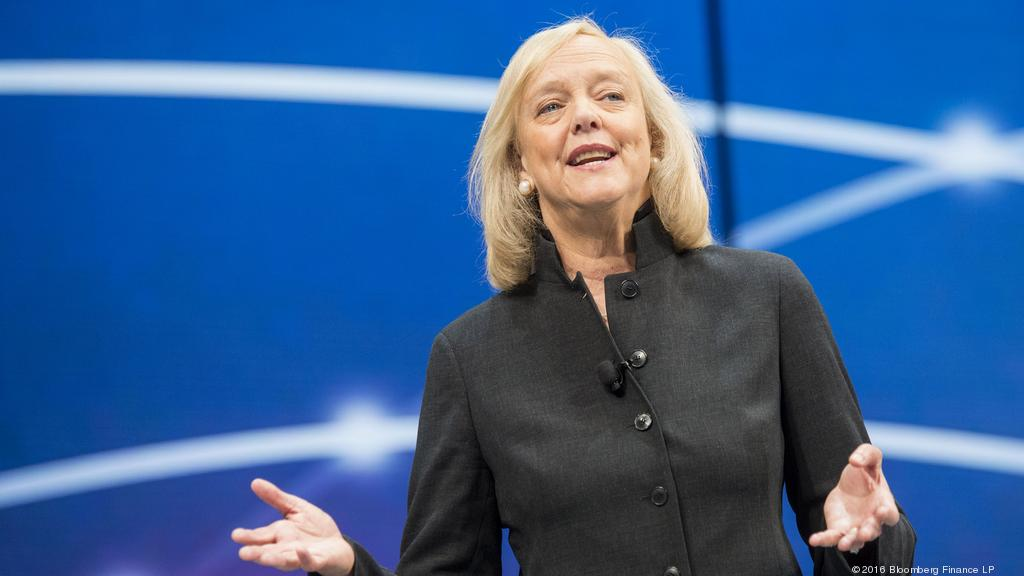 Meg Whitman steps down as CEO of HP Enterprise