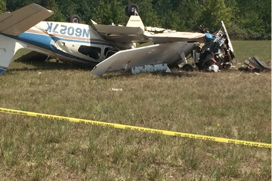NTSB investigation plane crash in Carrollton, Georgia