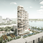 Waterfront condo plans revived with new design