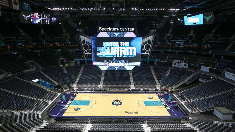 Charlotte Hornets Show Off Upgrades At Uptown S Time