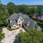 Home of the Day: Captivating Waterfront Lake Norman Point Lot Home in Cornelius
