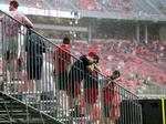 PHOTOS: Stormy day at the 'Shoe as weather delays Buckeyes game, cancels halftime show