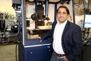 Dave Ramahi, president and CEO of Optomec, said that his printers are now bridging the gap between prototyping and manufacturing, and are now being used by a cell phone company to print antennas directly on cell phone cases.