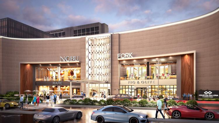 Nobu and Fig & Olive at the Galleria mall