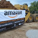 Loss becomes gain: Amazon breaks ground on $300M KCK facility [PHOTOS]