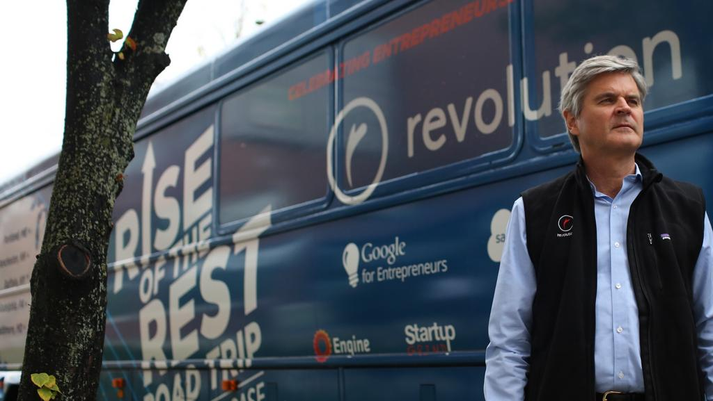 Steve Case gases up the bus for another Rise of the Rest tour