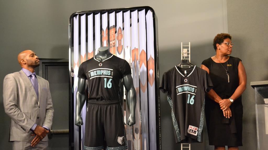 7b8a7d593 Memphis Grizzlies unveil special uniforms to commemorate Martin Luther King  Jr. Day - Memphis Business Journal