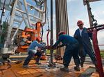 Number of Eagle Ford Shale rigs declines