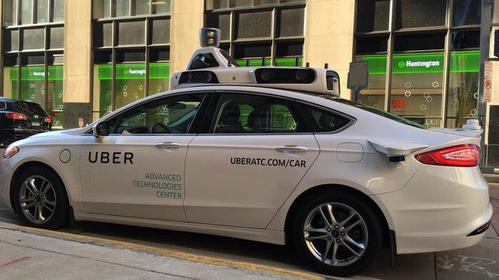 Uber temporarily stops self-driving cars after accident