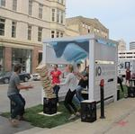 <strong>Rinka</strong> <strong>Chung</strong> brings one-day pocket park to downtown Milwaukee street: Slideshow