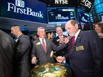 Scorecard: FirstBank execs react to NYSE debut
