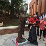 N.C. State unveils statues of coaches, including Valvano, adds to Hall of Fame