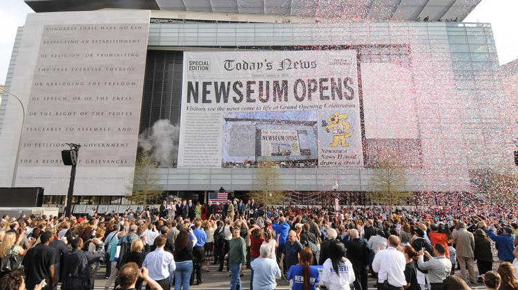 The Newseum On Pennsylvania Avenue NW Opened In April 2008