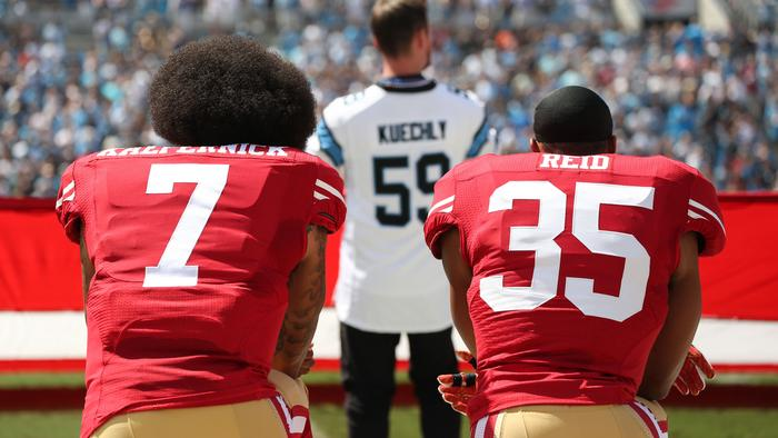 Do you agree with the NFL's new policy for the national anthem?