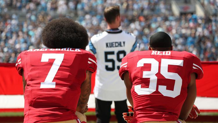 buy online 8616a 77c87 BUZZ: NFL Panthers cause a stir by signing Eric Reid ...